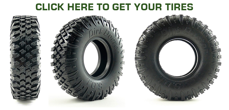 Try our tires for bead lock rims