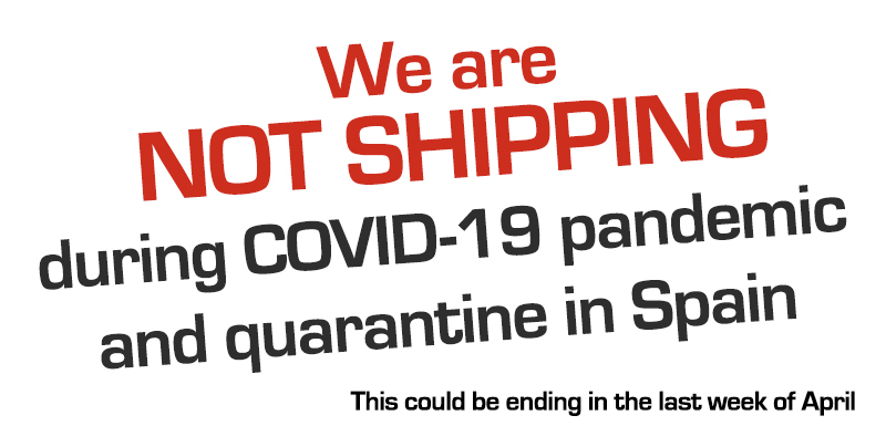 Not shipping during covid-19 pandemic and quarantine