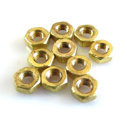 M3 Brass Nut