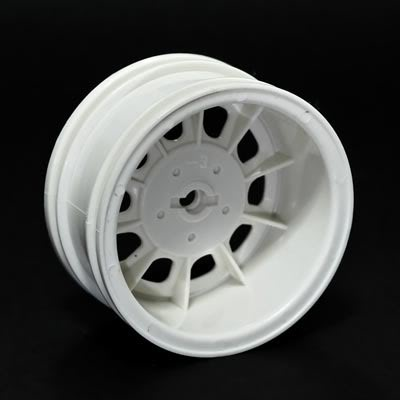 Wagon Stamp Wheel white