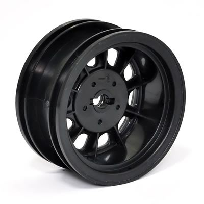 Wagon Stamp Wheel Black