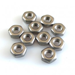 M2.5 Stainless Steel Nut (10 units)