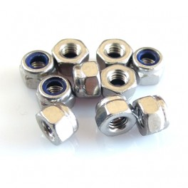 M3 Stainless Steel Lock Nut (10 units)