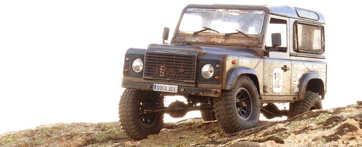 Defender using SDI axles and tyres